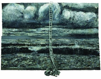 vos peintures coup-de-bisou Anselm-kiefer-jakobsleiter